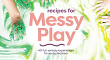 New version of Recipes for Messy Play