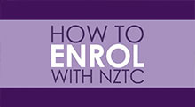 How to enrol with NZTC