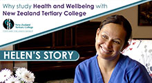 Health and Wellbeing graduate's study journey